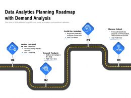 Data Analytics Planning Roadmap With Demand Analysis