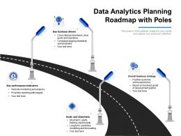 Data Analytics Planning Roadmap With Poles