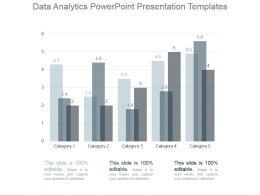 Data Analytics Powerpoint Presentation Templates