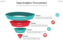 Data Analytics Procurement Ppt Powerpoint Presentation Model Graphic Tips Cpb