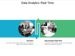 Data Analytics Real Time Ppt Powerpoint Presentation File Files Cpb