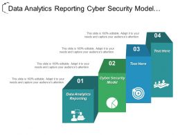Data Analytics Reporting Cyber Security Model Making Capital Decisions Cpb