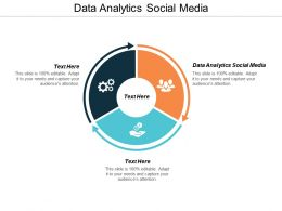 Data Analytics Social Media Ppt Powerpoint Presentation Icon Layout Cpb