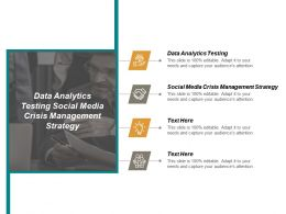 Data Analytics Testing Social Media Crisis Management Strategy Cpb