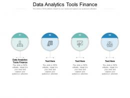 Data Analytics Tools Finance Ppt Powerpoint Presentation Layouts Graphics Cpb