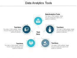 Data Analytics Tools Ppt Powerpoint Presentation Infographic Template Brochure Cpb