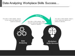 Data Analyzing Workplace Skills Success Communication Skills Improvement Cpb