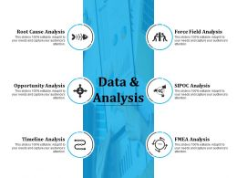 Data And Analysis Powerpoint Slide Backgrounds
