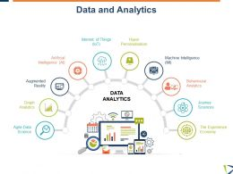 Data And Analytics Artificial Intelligence Ppt Powerpoint Presentation Slides Icons
