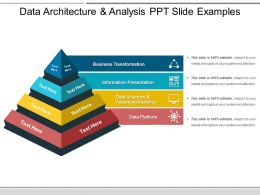 Data Architecture And Analysis Ppt Slide Examples
