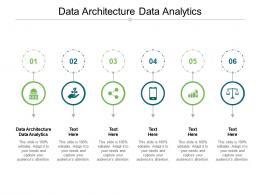 Data Architecture Data Analytics Ppt Powerpoint Presentation Professional Slides Cpb