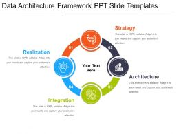 Data Architecture Framework Ppt Slide Templates