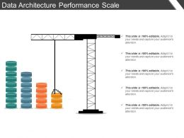 Data Architecture Performance Scale Ppt Slide Templates