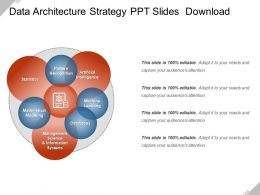 Data Architecture Strategy Ppt Slides Download