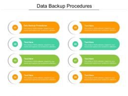Data Backup Procedures Ppt Powerpoint Presentation Layouts Icon Cpb