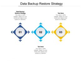 Data Backup Restore Strategy Ppt Powerpoint Presentation Layouts Format Ideas Cpb