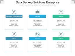 Data Backup Solutions Enterprise Ppt Powerpoint Presentation Slides Background Cpb