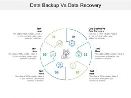 Data Backup Vs Data Recovery Ppt Powerpoint Presentation Styles Slide Cpb