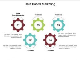 Data Based Marketing Ppt Powerpoint Presentation Pictures Inspiration Cpb