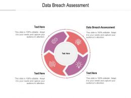 Data Breach Assessment Ppt Powerpoint Presentation Outline Rules Cpb