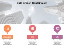Data Breach Containment Ppt Powerpoint Presentation Icon Background Image Cpb