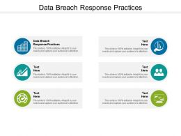 Data Breach Response Practices Ppt Powerpoint Presentation Outline Graphics Cpb
