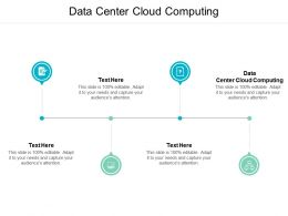 Data Center Cloud Computing Ppt Powerpoint Presentation Inspiration Example Cpb