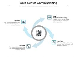 Data Center Commissioning Ppt Powerpoint Presentation Layouts Structure Cpb