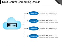 Data Center Computing Design PPT Infographic Template