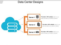 Data Center Designs Ppt Infographics