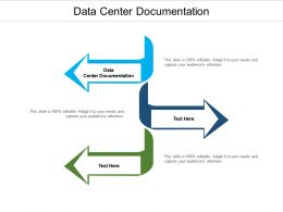 Data Center Documentation Ppt Powerpoint Presentation Infographic Template Sample Cpb