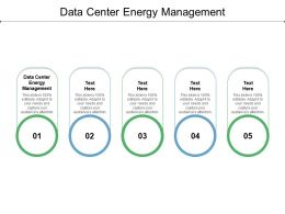 Data Center Energy Management Ppt Powerpoint Presentation Professional Maker Cpb