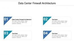 Data Center Firewall Architecture Ppt Powerpoint Presentation Slides Shapes Cpb