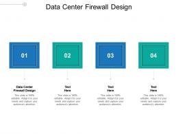 Data Center Firewall Design Ppt Powerpoint Presentation Summary Icon Cpb