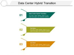 Data Center Hybrid Transition Ppt Powerpoint Presentation Summary Visual Aids Cpb