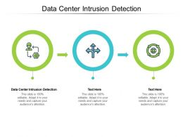 Data Center Intrusion Detection Ppt Powerpoint Presentation Outline Smartart Cpb