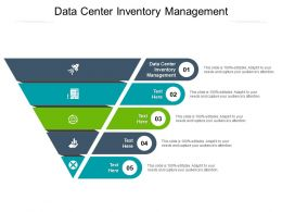Data Center Inventory Management Ppt Powerpoint Presentation Infographic Template Show Cpb