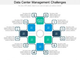 Data Center Management Challenges Ppt Powerpoint Presentation Slides Grid Cpb