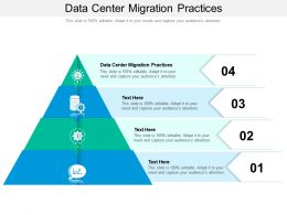 Data Center Migration Practices Ppt Powerpoint Presentation Slides Ideas Cpb