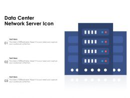 Data Center Network Server Icon
