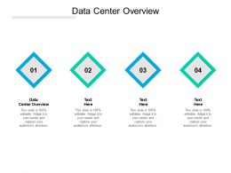 Data Center Overview Ppt Powerpoint Presentation Pictures Template Cpb
