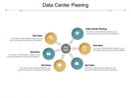 Data Center Peering Ppt Powerpoint Presentation Model Diagrams Cpb