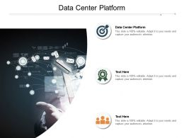 Data Center Platform Ppt Powerpoint Presentation Infographic Template Professional Cpb