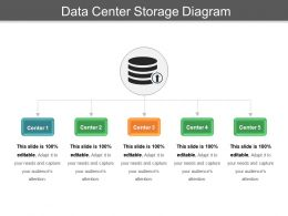 Data Center Storage Diagram Ppt Sample Download