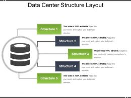 Data Center Structure Layout Ppt Samples