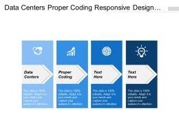 Data Centers Proper Coding Responsive Design Company Vision