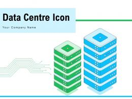 Data Centre Icon Employee Connected Server Business Applications