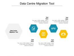 Data Centre Migration Tool Ppt Powerpoint Presentation Model Slide Portrait Cpb