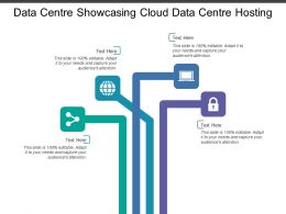 Data Centre Showcasing Cloud Data Centre Hosting