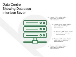 Data Centre Showing Database Interface Sever